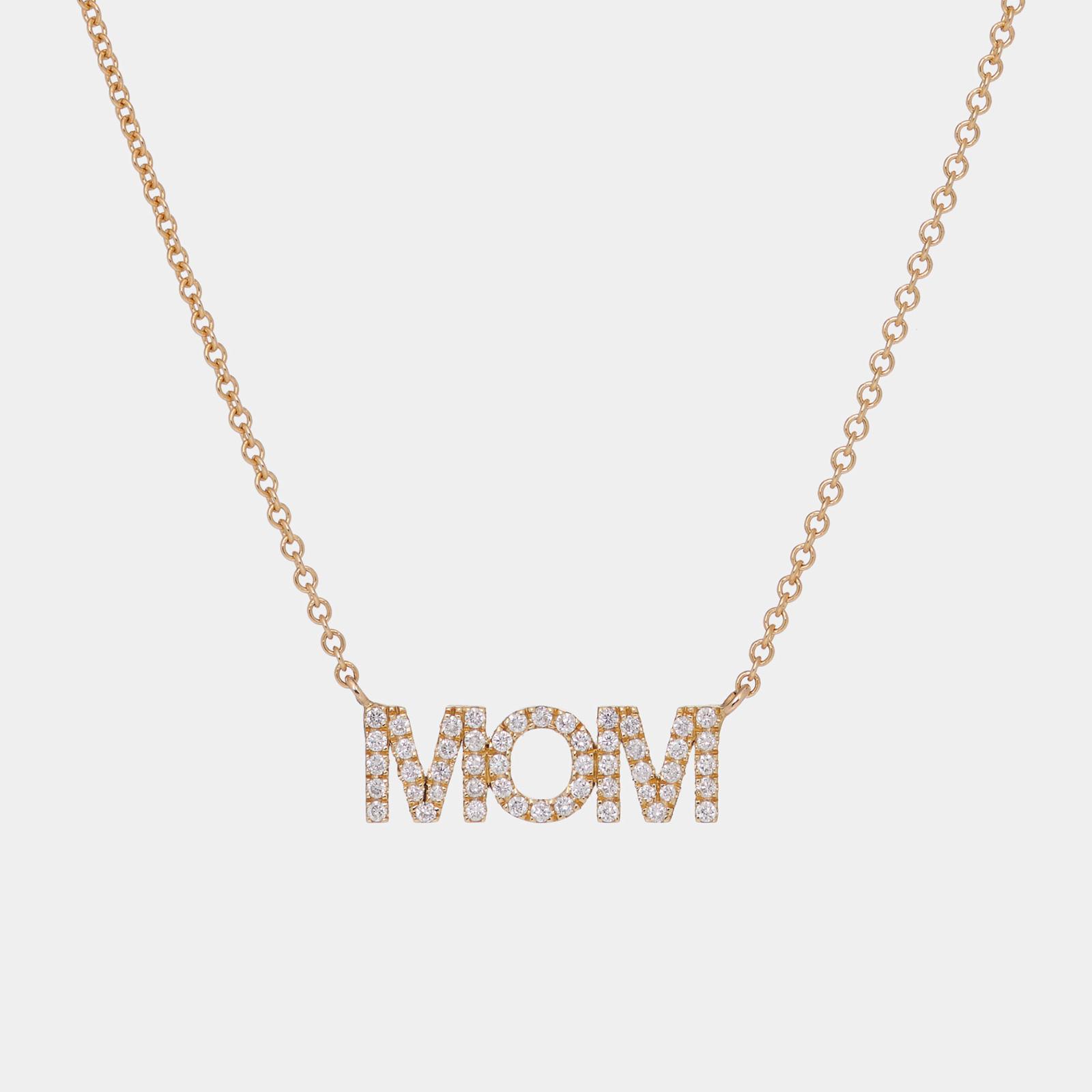 Girocollo in oro rosa personalizzato con diamanti bianchi- Rosanna Cattolico gioielli