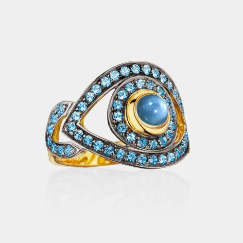 Netali Nissim - Anello Big Eye | Rosanna Cattolico gioielli