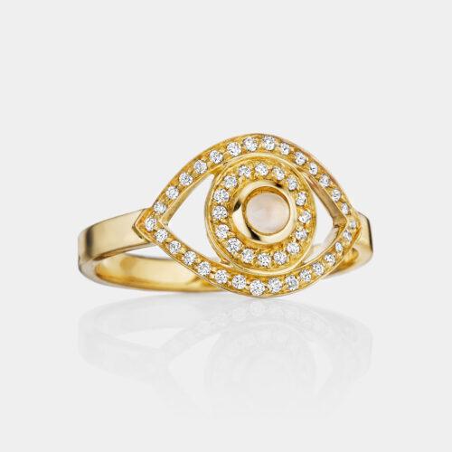 Netali Nissim - Anello Mini Eye | Rosanna Cattolico gioielli