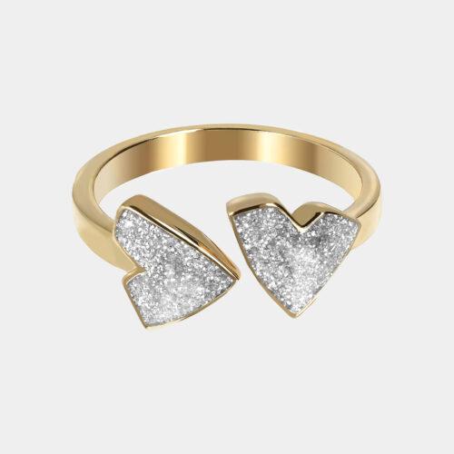 Netali Nissim - Anello Mini Heart | Rosanna Cattolico gioielli