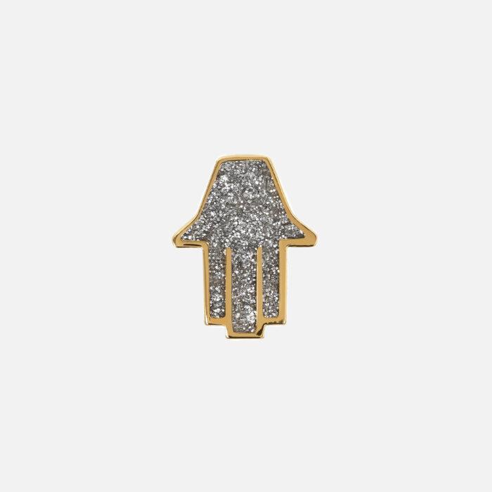 Netali Nissim - Orecchino Mini Hamsa | Rosanna Cattolico gioielli