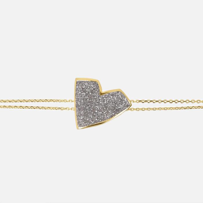 Netali Nissim - Bracciale Big Heart   Rosanna Cattolico gioielli